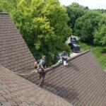 Repairing Roof Peak with Ridgeguard