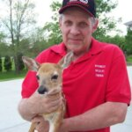 Paul Holding a Fawn