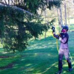 Spraying Trees for Mosquitoes